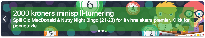 unibet bingo turnering