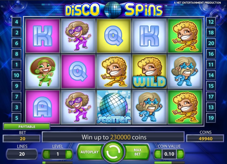 Disco-Spins slot