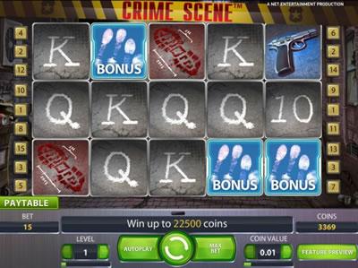 crimescene bonus