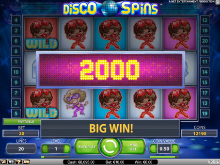 disco spins win