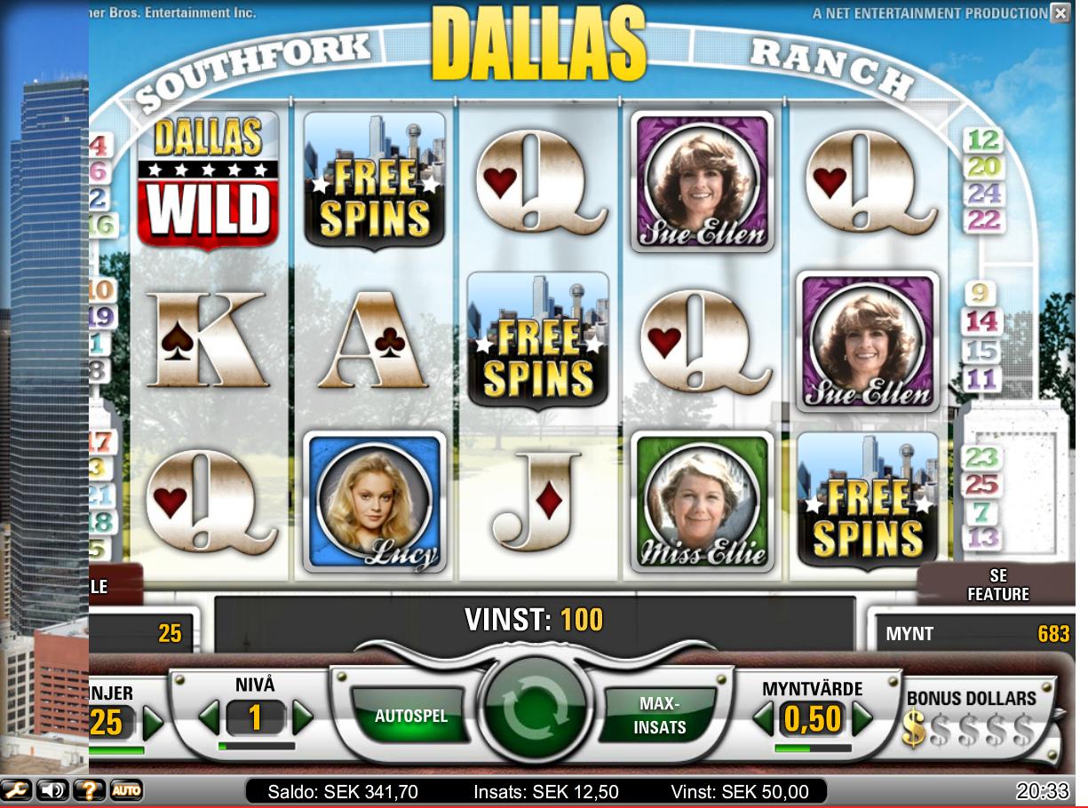 Dallas free spins