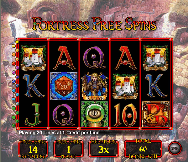 dungeon - Fortress_Free_Spins