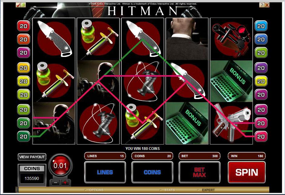 hitmanslot-bonus