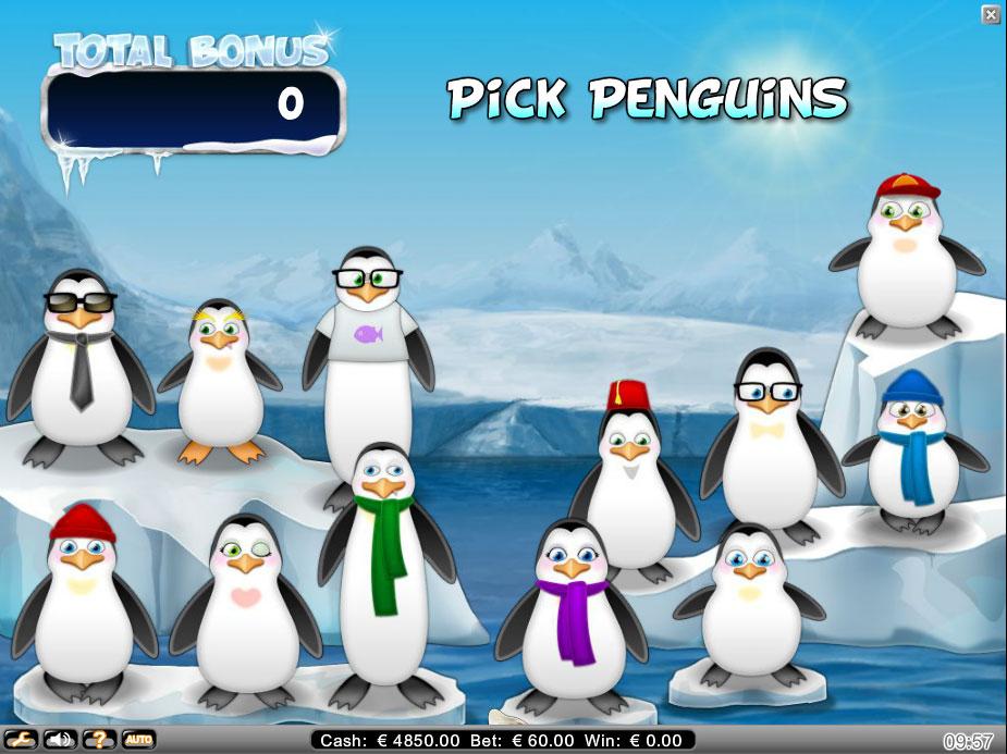 icy wonders - PenguinBonus