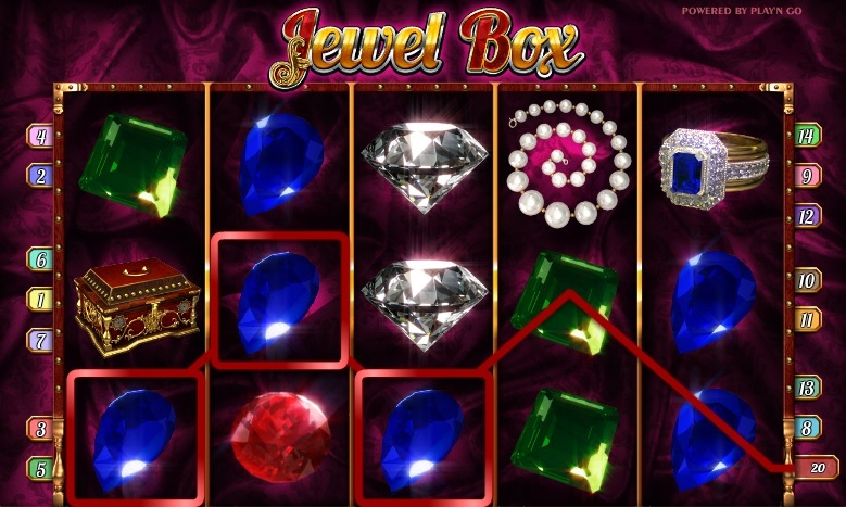 jewel-box symboler