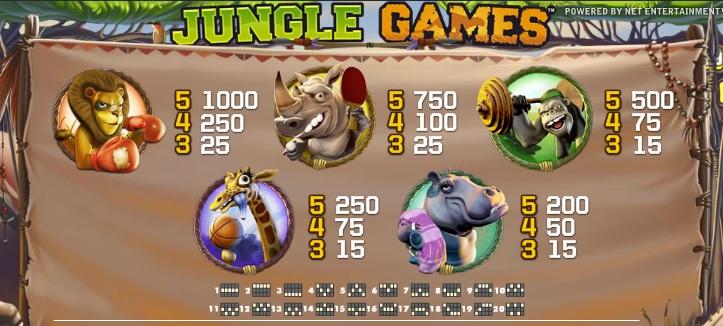 jungle-games payt
