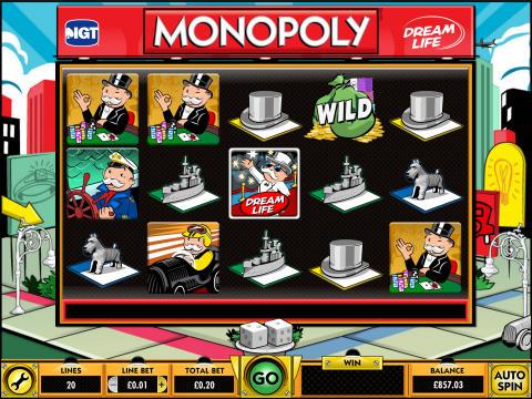 monopoly dream life smbl
