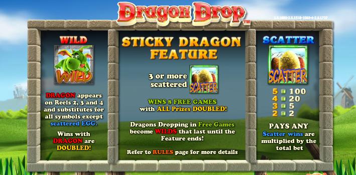 dragon drop spec feat