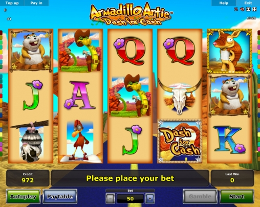 Armadillo-Artie-Dash-for-Cash-slot