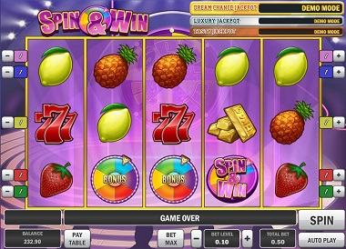 Spin-Win-Slot-Game