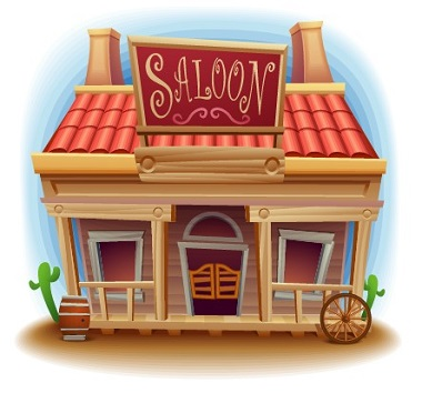 Wild-West-Saloon