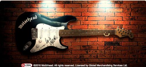 lemmy motörhead gitar
